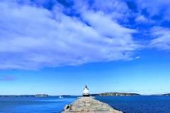 A lighthouse!